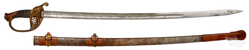 Civil War staff and field officers sword