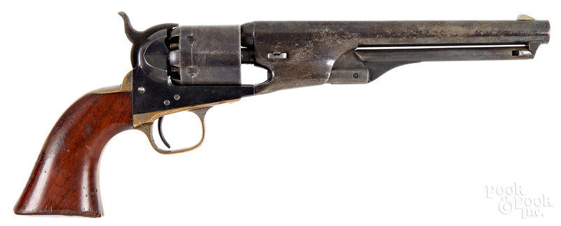 Identified Colt Navy percussion revolver