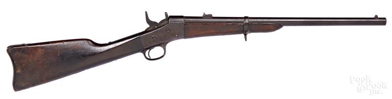 Remington rolling block saddle ring carbine