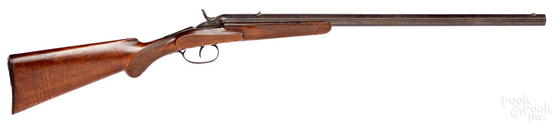 Belgian Flobert falling block rifle