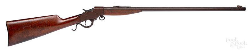 Stevens A & T falling block single shot rifle