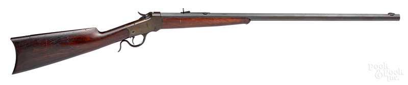 Winchester model 1885 falling block low wall rifle