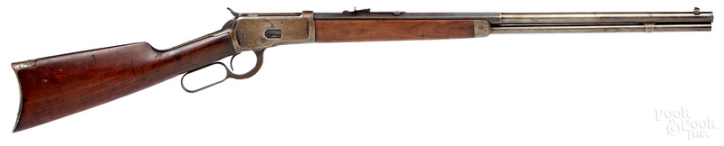 Winchester model 1892 lever action rifle