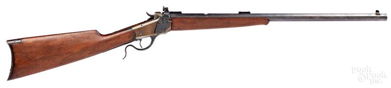 Winchester model 1885 single shot rifle