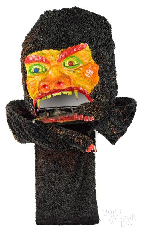 Coney Island animated spook house gorilla