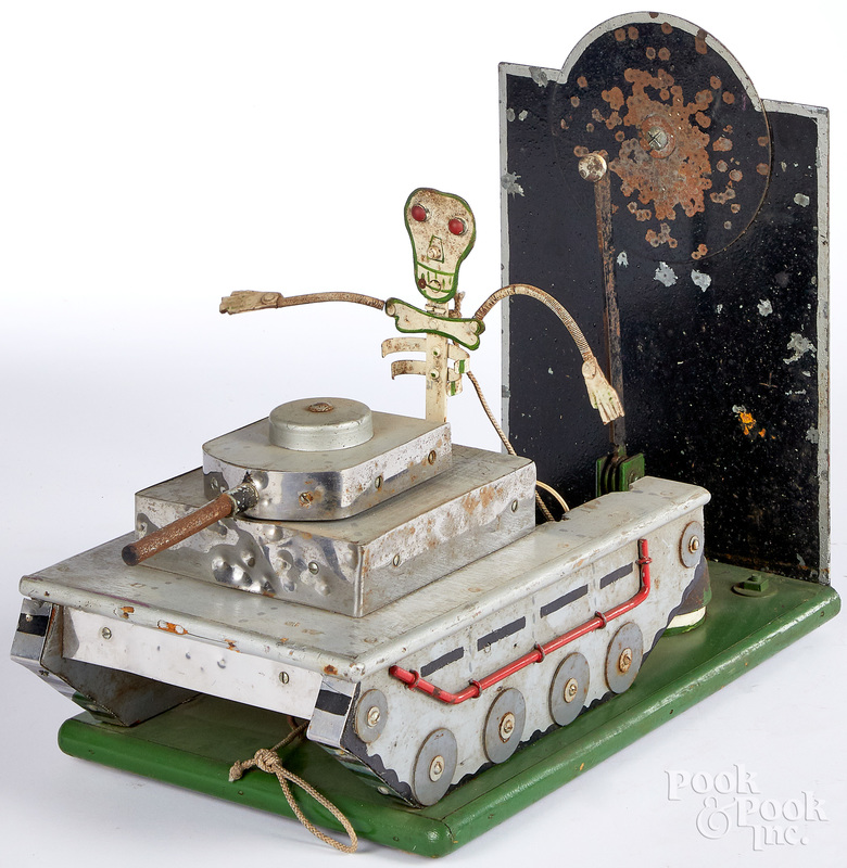 Skeleton figure carnival target
