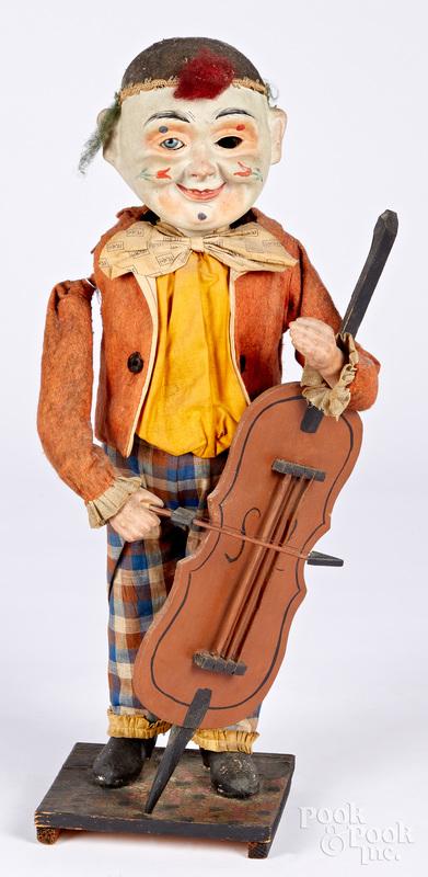 German clockwork cello player automaton