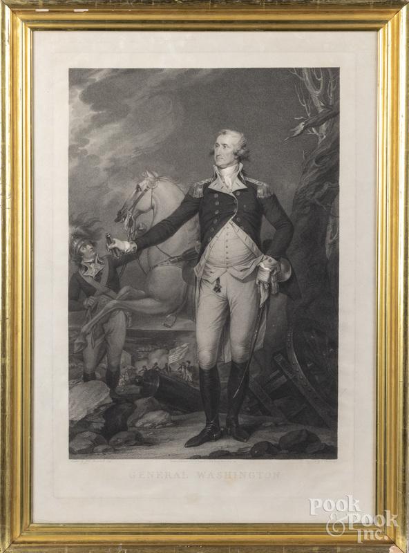 Engraving of General Washington