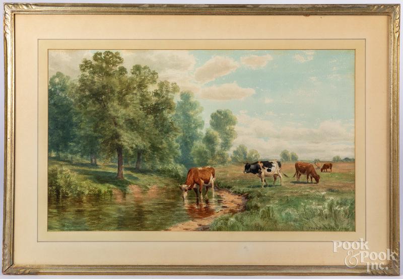 Thomas Craig watercolor landscape
