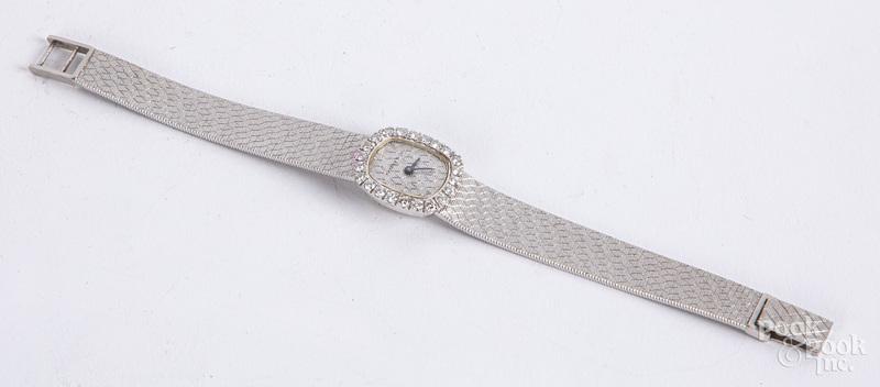 Tiffany & Co. 14K gold ladies wristwatch