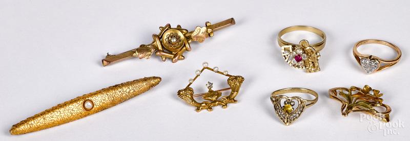 10K gold jewelry