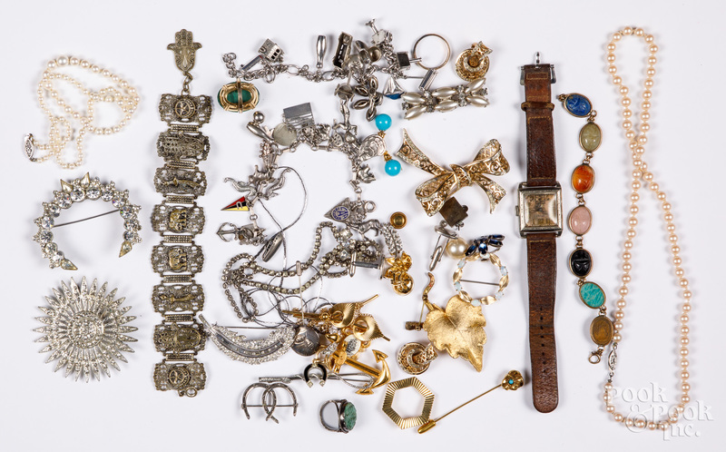Costume jewelry, etc.