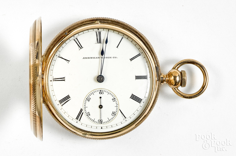 14K gold Waltham ladies pocket watch