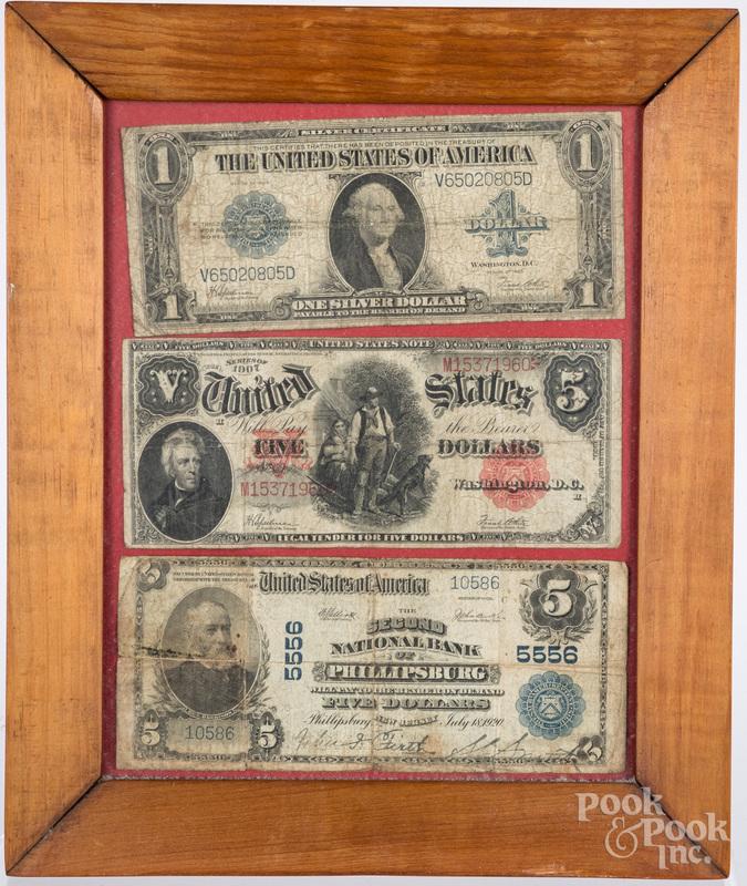 Three US notes
