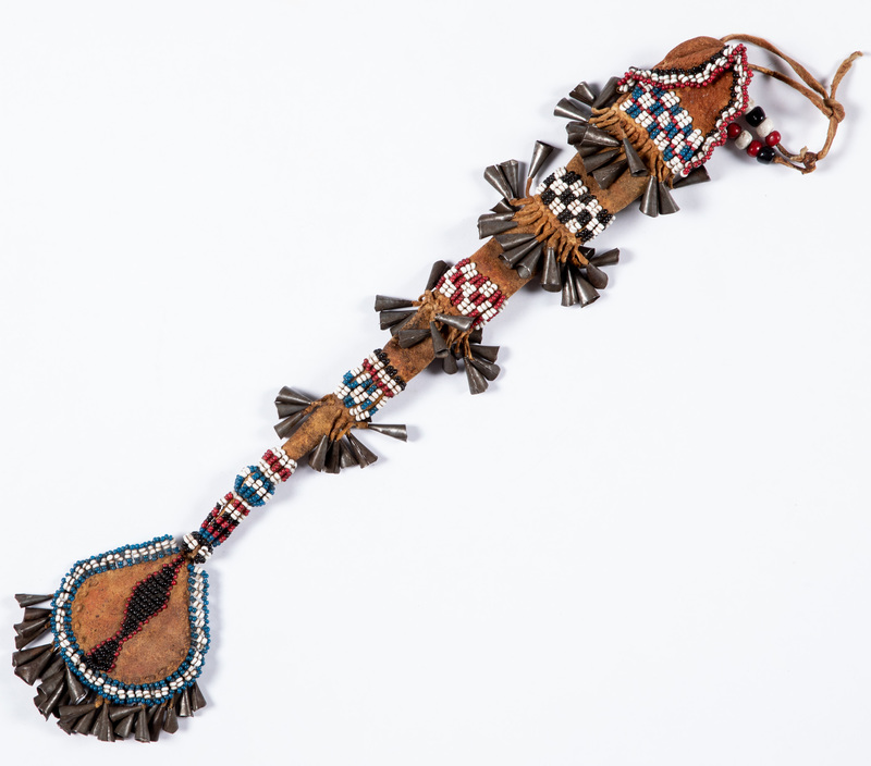 Apache Indian beaded awl case