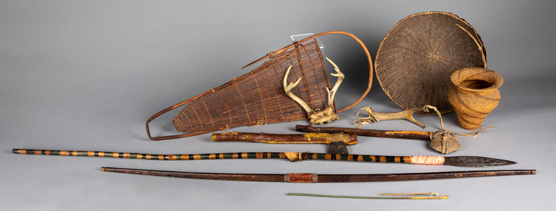 Group of Native American type weapons