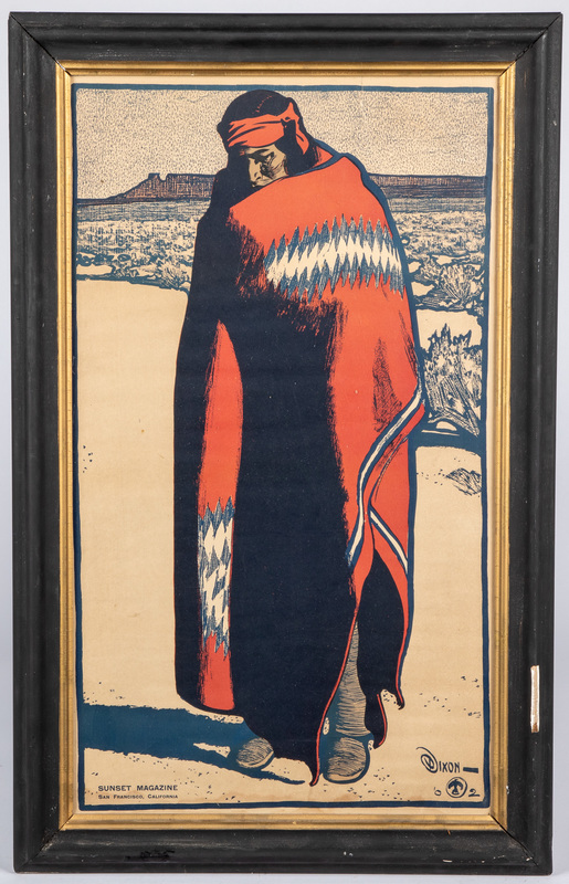Maynard Dixon, Sunset Magazine Native American In