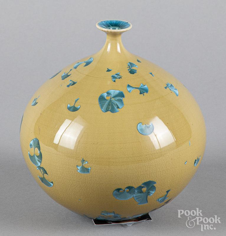 Hideaki Miyamura studio pottery vase