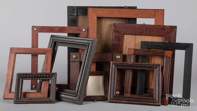 Group of early frames, 19th c.