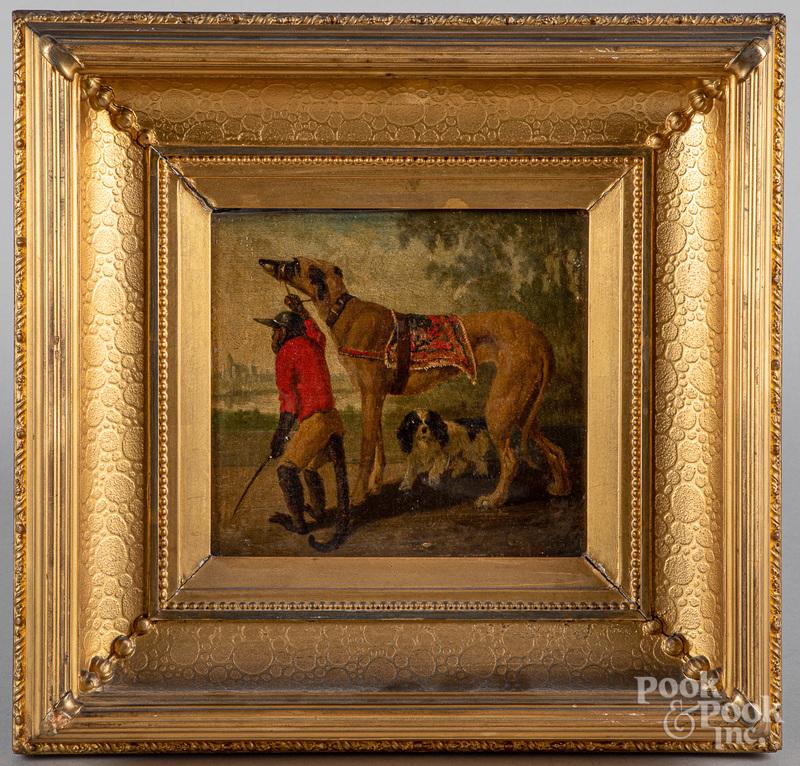 Vincent de Vos oil on panel