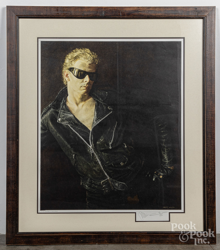 Jamie Wyeth signed collotype Draft Age