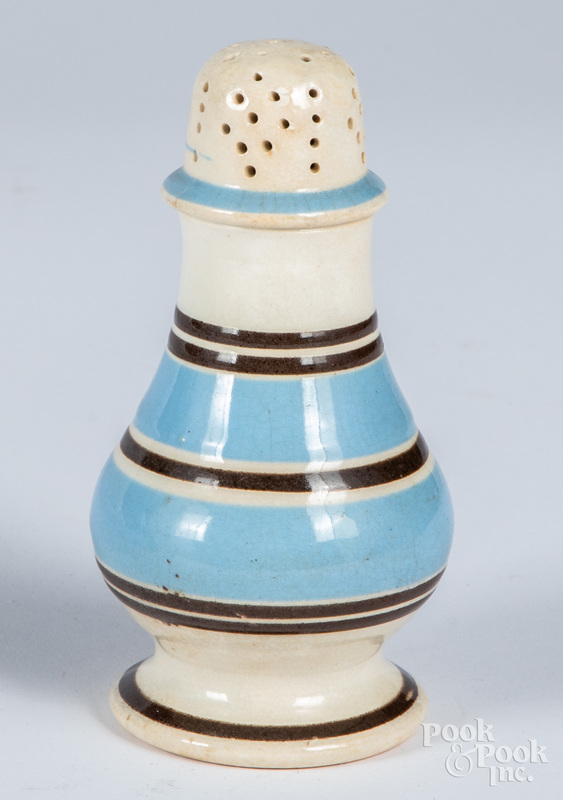 Mocha pepper pot, 19th c.