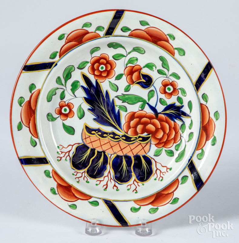 Gaudy Dutch War Bonnet plate