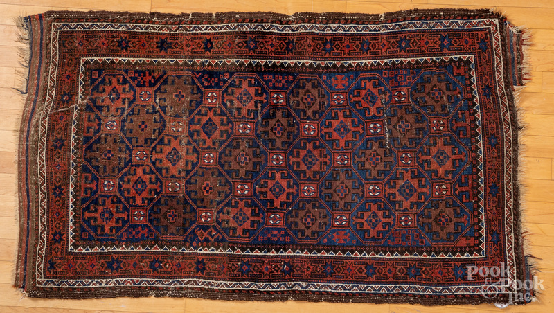 Baluch carpet, early 20th c.