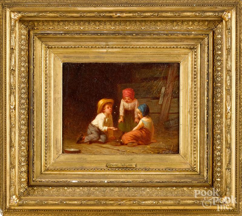 William Penn Morgan oil on canvas