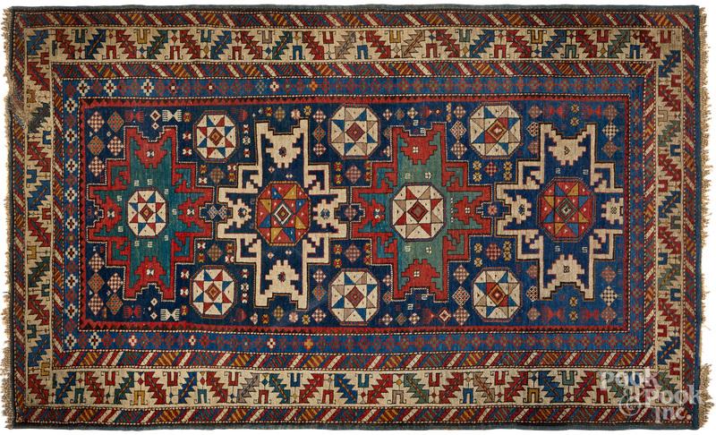 Lesghi Star Shirvan carpet, early 20th c.
