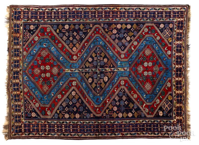 Semi antique Caucasian carpet