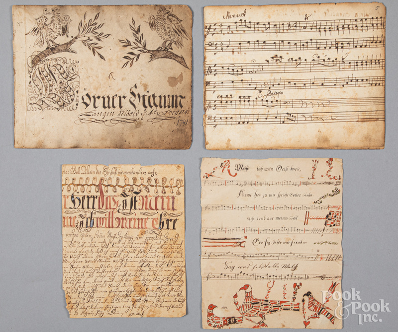 Partial fraktur songbook