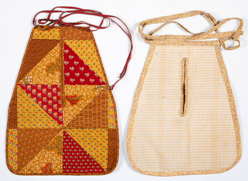 Patchwork pocket, late 19th c.
