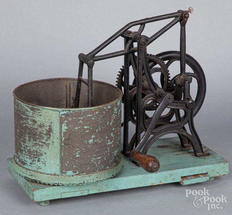 Starrett mechanical hand-crank food chopper