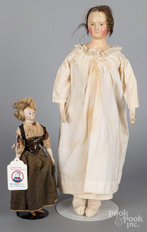 Two miscellaneous dolls
