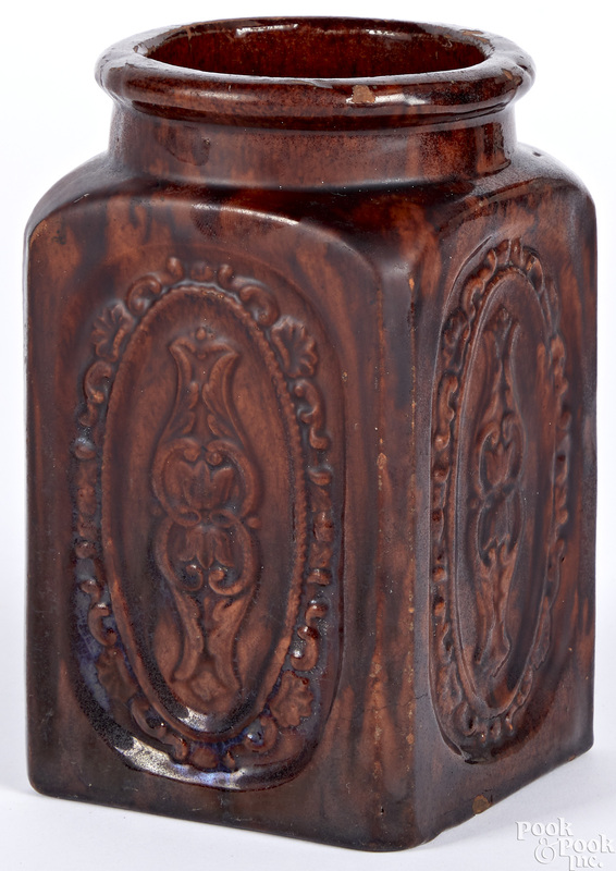Lancaster, Pennsylvania redware jar