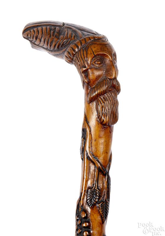 Pennsylvania Bally Carver cane
