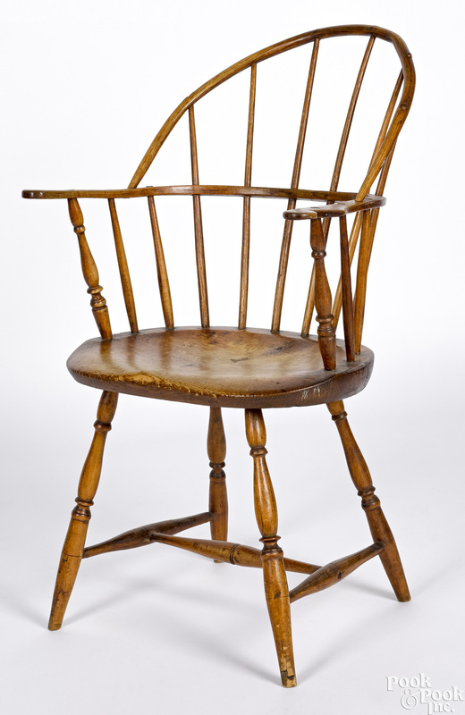 New England sackback Windsor chair