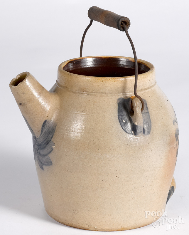 Pennsylvania stoneware batter jug, 19th c.