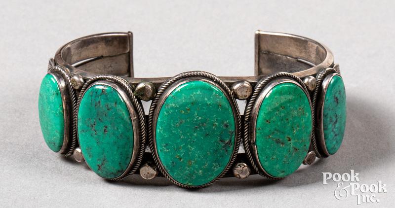 Henry Morgan, Navajo Indian bracelet