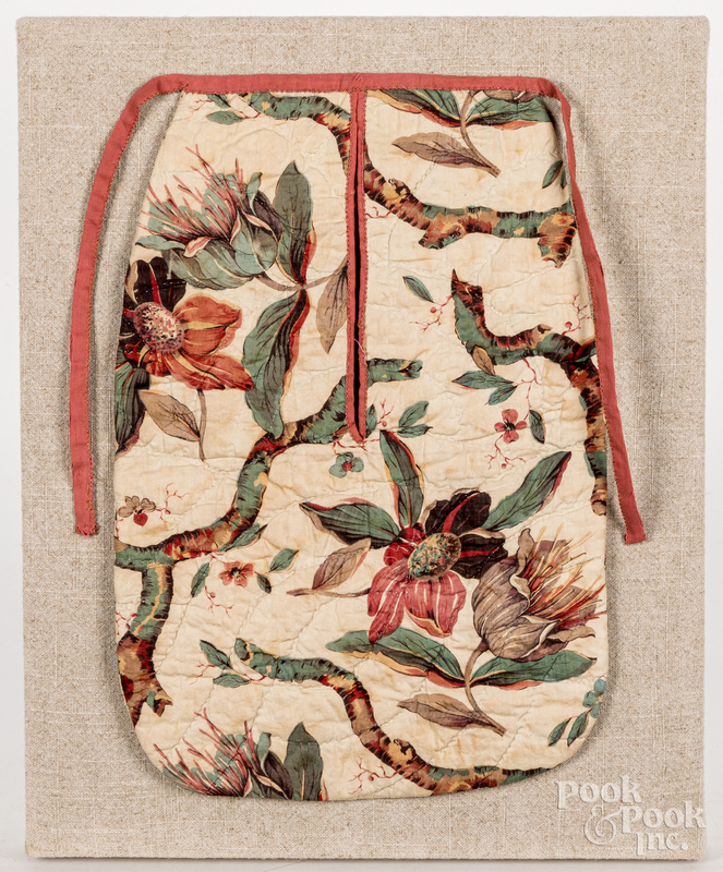Printed cotton privy bag