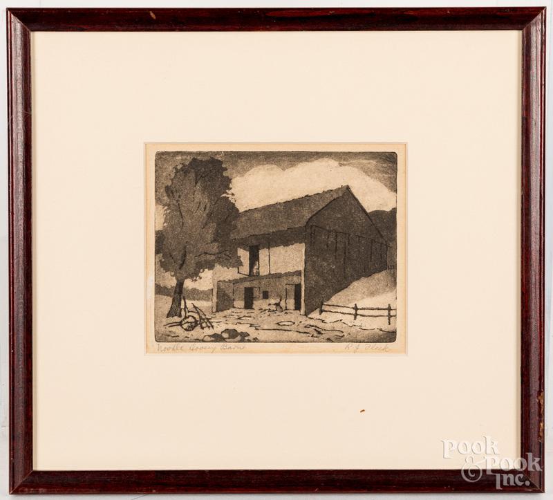 Robert John Fleck engraving