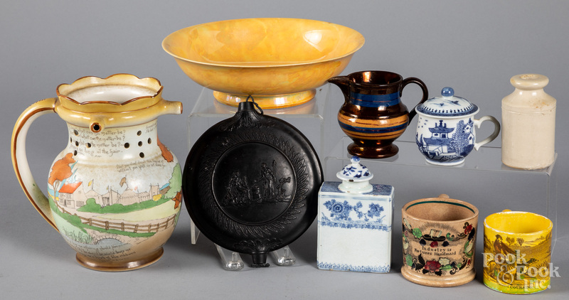 Group of miscellaneous porcelain