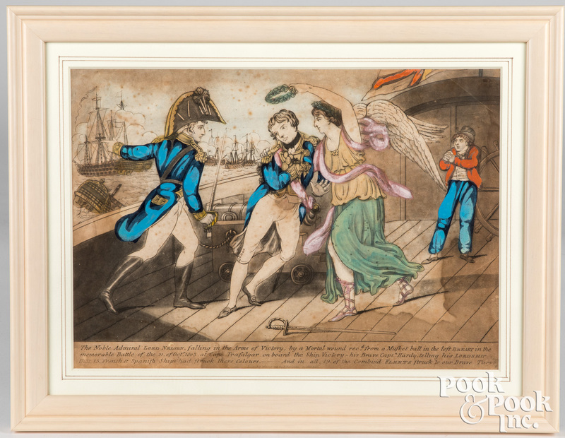 Admiral Lord Nelson lithograph
