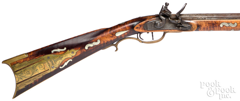 T. (Thomas) Douglass, Huntington County PA rifle