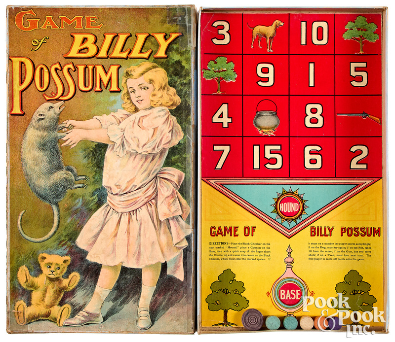 Game of Billy Possum, ca. 1909