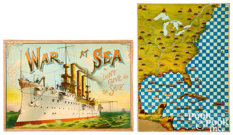 McLoughlin Bros. War At Sea, ca. 1898