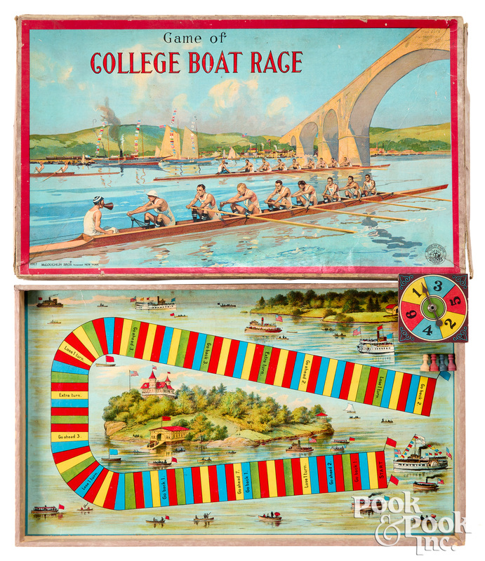 McLoughlin Bros. Game of College Boat Race