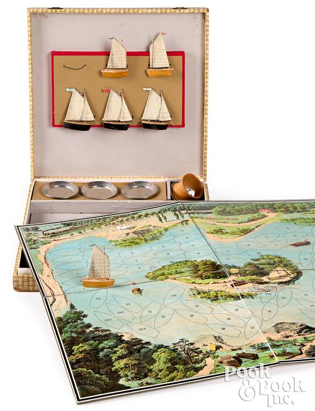 The Game of Regatta, ca. 1900