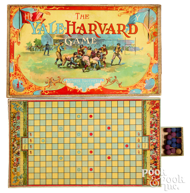 Parker Bros. Yale-Harvard Game, ca. 1894